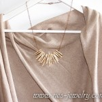 Boho style necklace ivory chips 04