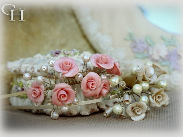Wonderful new photos of rose tiaras