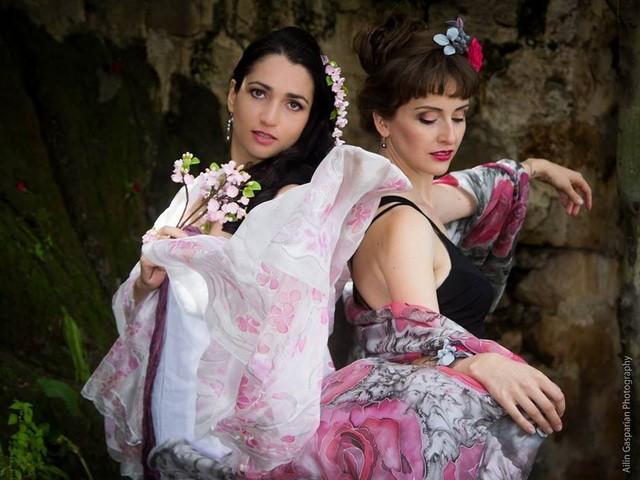 Sakura and Rose